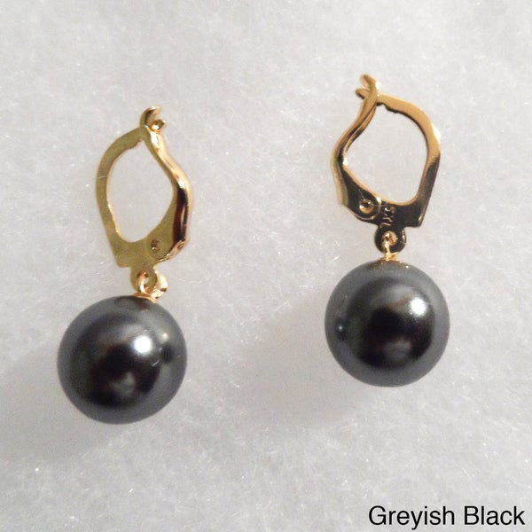 Ann Marie Lindsay 18k Gold and Pearl Drop Earrings