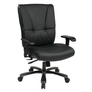Office Star Big & Tall Executive Leather Chair