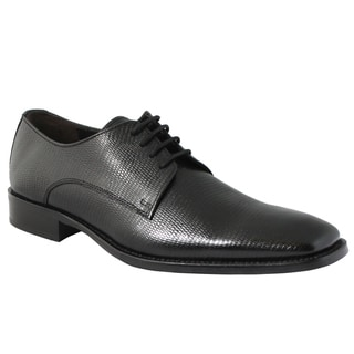 Giorgio Brutini Men's Black Oxford Shoes
