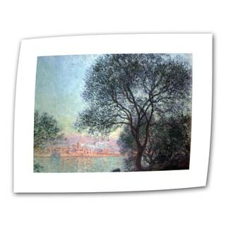 Claude Monet 'Antibbes' Flat Canvas Art