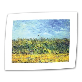 VanGogh 'Green Wheat Fields' Flat Canvas