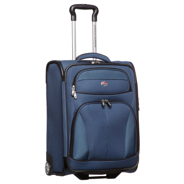 American Tourister 21-inch Expandable Rolling Carry On Upright