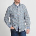 English Laundry by Christopher Wicks Men's 'The Woodley' Floral Shirt