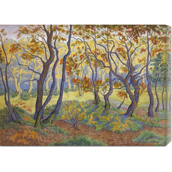 Paul Ranson 'The Clearing' Stretched Canvas Art