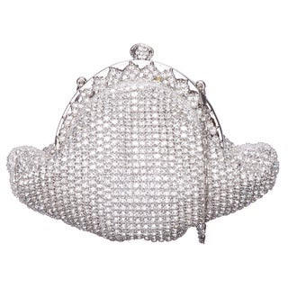 J. Furmani Crystal Embellished Vintage Evening Bag
