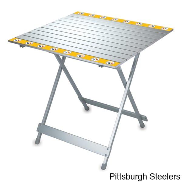 Aluminum NFL AFC Team Travel Table