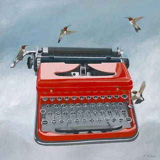 Lacey Shelton 'Every Word You Write Is Love' Art Print