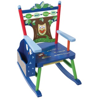 Child's Owl Rocker Chair
