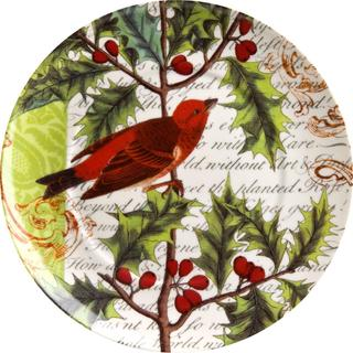 Waechtersbach Holiday Traditions 'Greetings' Accent Plates (Set of 4)