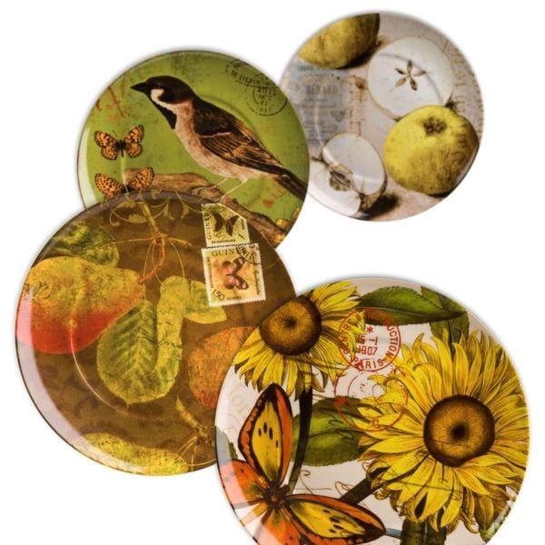 Waechtersbach 'Assorted' Accents Nature Plates (Set of 4)