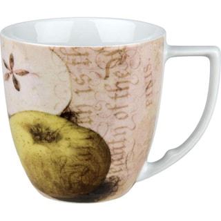 Waechtersbach 'Apples' Accents Nature Mugs (Set of 4)