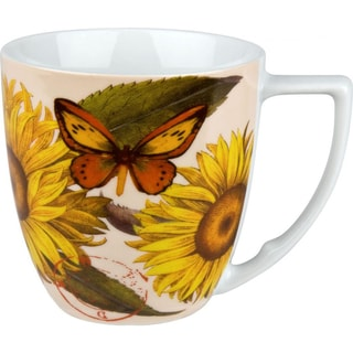 Waechtersbach 'Sunflower' Accents Nature Mugs (Set of 4)