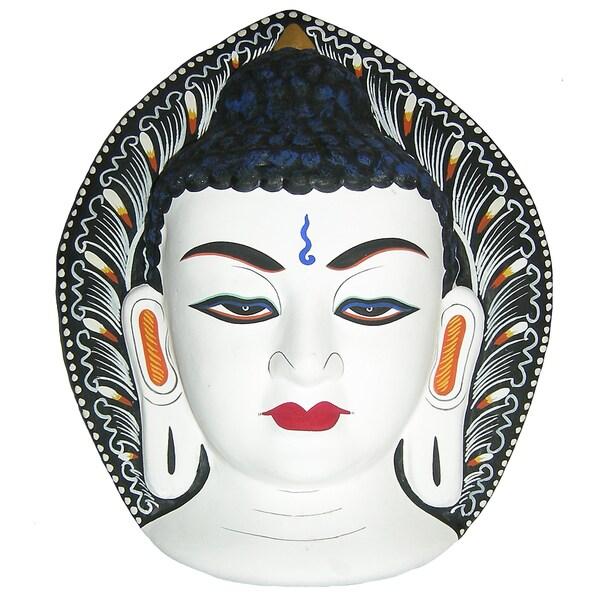 Buddha Paper Mache Mask (Nepal)