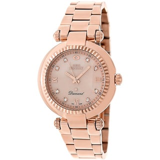 Swiss Precimax Women's Rose-gold Steel Avant Diamond Watch
