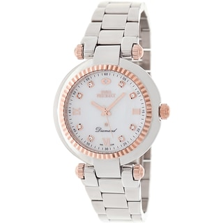 Swiss Precimax Women's Steel Avant Diamond Watch
