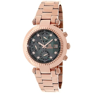 Swiss Precimax Women's Rose-gold Steel Watch