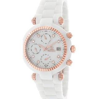 Swiss Precimax Women's White Ceramic Avant Watch