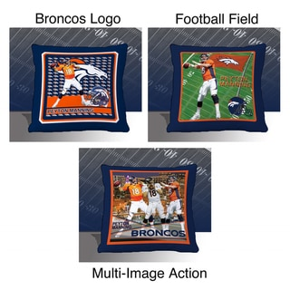 NFL Biggshots Denver Broncos Peyton Manning Toss Pillow