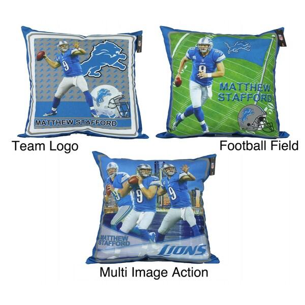 NFL Biggshots Detroit Lions Matthew Stafford Toss Pillow