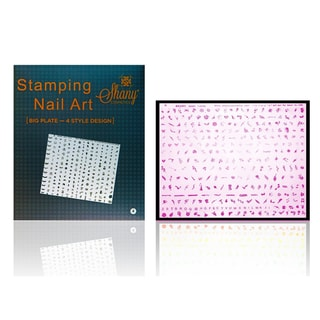 Shany Cosmetics XXL Image Plate Fun Shapes Set #D (240 designs)