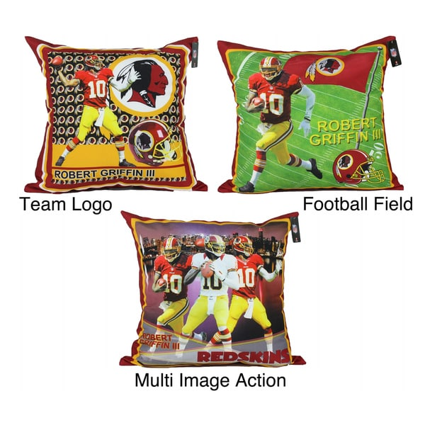 NFL Biggshots Washington Redskins Robert Griffin III Toss Pillow