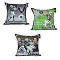 Oakland Raiders Darren Mcfadden Toss Pillow