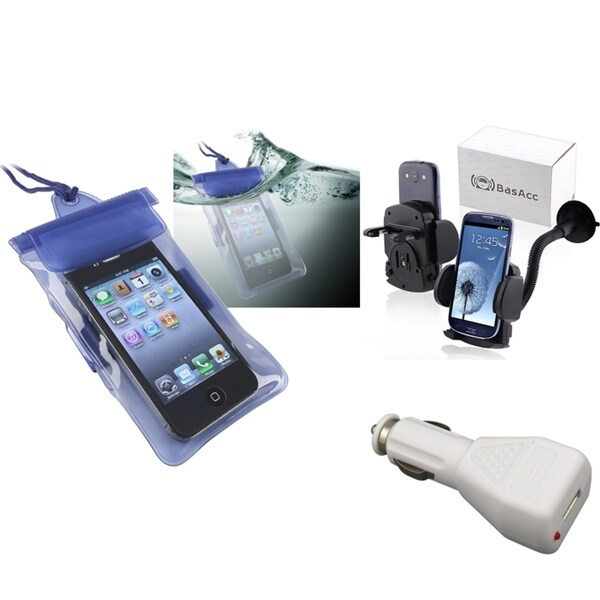 INSTEN Bag/ Charger/ Holder for Motorola Droid X/ X2/ Droid 2/ Global