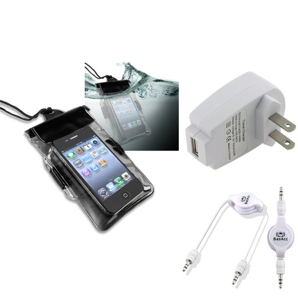 INSTEN Bag/ Charger/ Cable for BlackBerry Torch 9850/ 9860/ 8520/ 8530