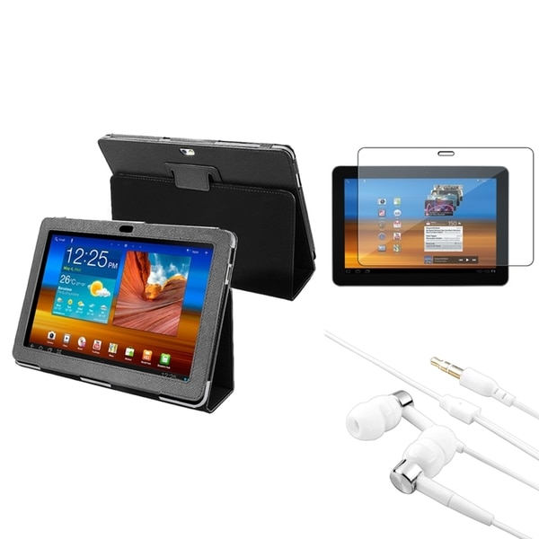 BasAcc Case/ LCD Protector/ Headset for Samsung Galaxy Tab 10.1 P7500