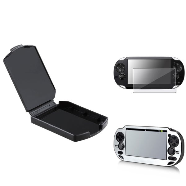 BasAcc Aluminum Case/ Protector/ Game Case for Sony Playstation Vita