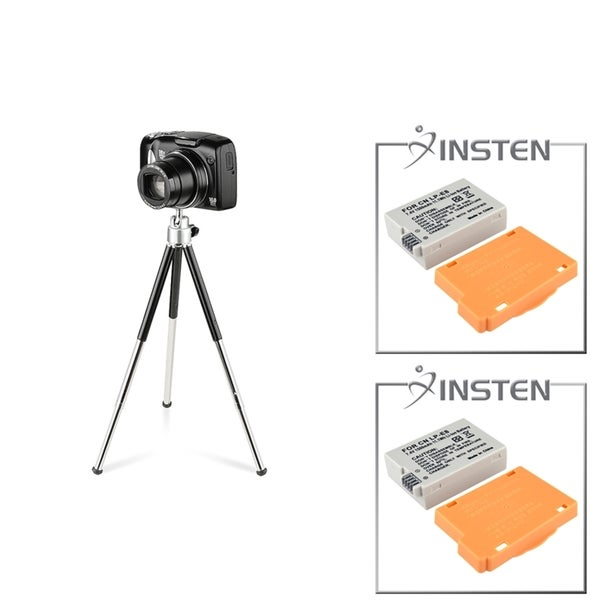 INSTEN Battery/ Tripod for Canon Rebel T2i/ 550D/ 600D