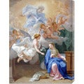 Giovanni Odazzi 'The Annunciation' Stretched Canvas Art