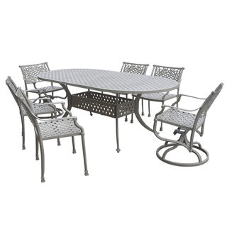Carmel 7-piece Oval Dining Set
