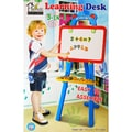 Home Innovations 3-in-1 Learning Desk with Chalkboard, Magnetic Board and Letter Pieces