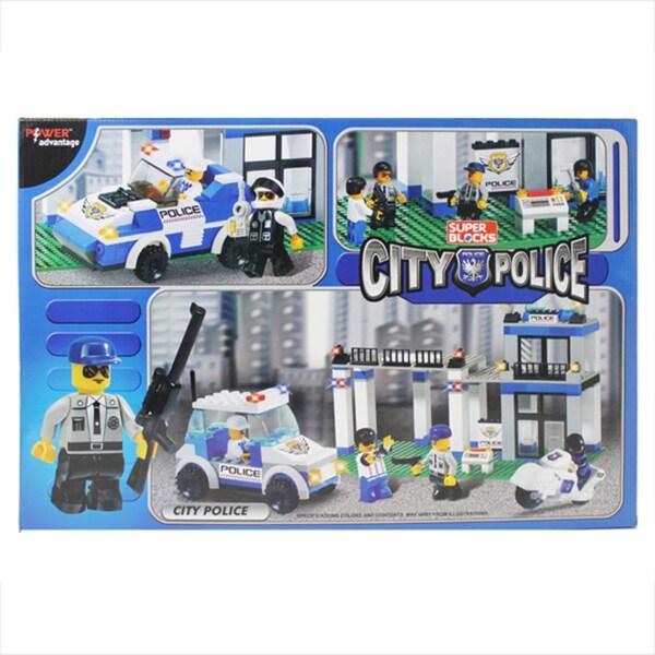 Power Advantage City Police Blocks 541-Piece Set