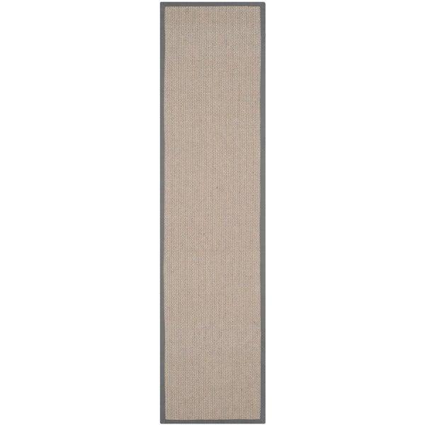 Safavieh Hand-woven Natural Fiber Uni Grey Fine Sisal Rug (2'6 x 18')