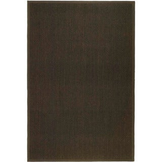 Hand-woven Resorts Brown Fine Sisal Rug (2' 6 x 4')