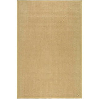 Hand-woven Resorts Natural/ Beige Fine Sisal Rug (2' 6  x 4')