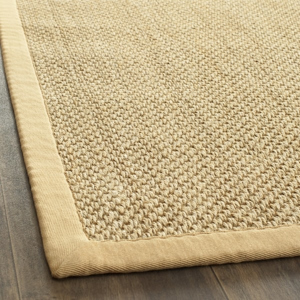 Safavieh Hand-woven Resorts Natural/ Beige Fine Sisal Rug (2' 6 x 4')