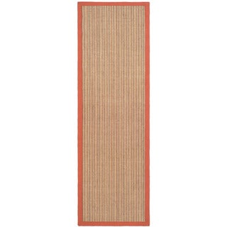 Safavieh Dream Natural Fiber Rust Sisal Rug (2' 6 x 6')
