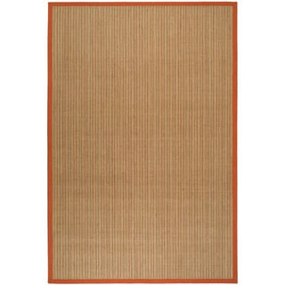 Dream Natural Fiber Rust Sisal Rug (2' 6  x 4')