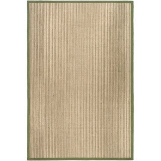 Dream Natural Fiber Green Sisal Rug (2' 6 x 4')