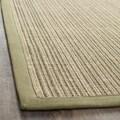 Safavieh Dream Natural Fiber Green Sisal Rug (2' 6  x 4')