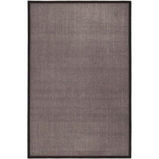 Safavieh Hand-woven Serenity Charcoal Grey Sisal Rug (2' 6 x 4')