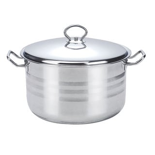 Prestige 18/10 Stainless Steel 16-quart Dutch Oven