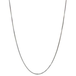 Tressa Collection Sterling Silver Rhodium Box Chain