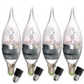 Infinity LED Dimmable Cool White Candelabra Bulbs (Pack of 4)