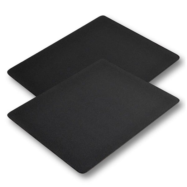 INSTEN 2-piece Soft Silicone Optical/ Trackball Mouse Mouse Pad