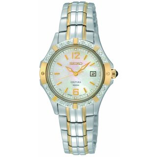Seiko Women's Stainless Steel 'Coutura' Watch