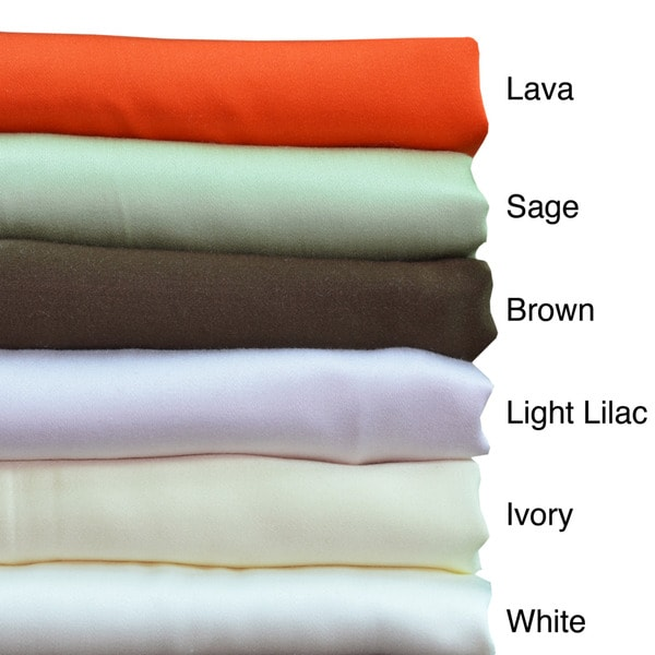 Brielle 100-percent Rayon from Bamboo Pillowcases (Set of 2)